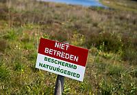OUDEMIRDUM - Natuurgebied. Niet betreden. Golfclub Gaasterland ligt in Zuidwest-Friesland en heeft een schitterende 9 holes natuurbaan. COPYRIGHT KOEN SUYK
