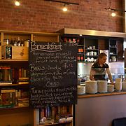 Upstairs at Bookshop Cafe,  Gladstone Road. Gisborne, New Zealand. 17th January 2010. Photo Tim Clayton