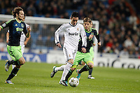 04.12.2012 SPAIN -  Champions League 12/13 Matchday 6th  match played between Real Madrid CF vs AFC Ajax (4-1) at Santiago Bernabeu stadium. The picture show Jose Maria Callejon (Spanish midfielder of Real Madrid)