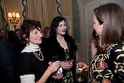 JANE ORMSBY-GORE; JASMINE GUINNESS, The Dowager Duchess od Devonshire and Catherine Ostler editor of the Tatler host a party to celebrate Penguin's reissue of Nancy Mitford's ' Wigs on the Green.'  The French Salon. Claridge's. London. 10 March 2010.
