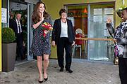Her Royal Highness The Duchess of Cambridge leaving  Brookhill Children's Centre, London, UK.