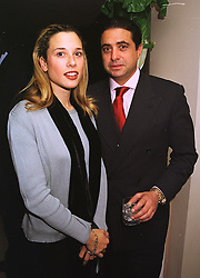 MISS DAPHNE STERN and MR VIVIAN IMERMAN Chairman of Del Monte Foods, at a party in London on 7th October 1998.MKO 10