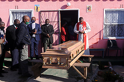 South Africa - Cape Town - 03 - September - 2020 Relatives, friends, and residents in Philippi on Thursday will pay their last goodbyes to murdered teen Nomvuzo Atoli  her body will taken to the place where she was found murdered two weeks ago. Photographer Ayanda Ndamane African News Agency(ANA)