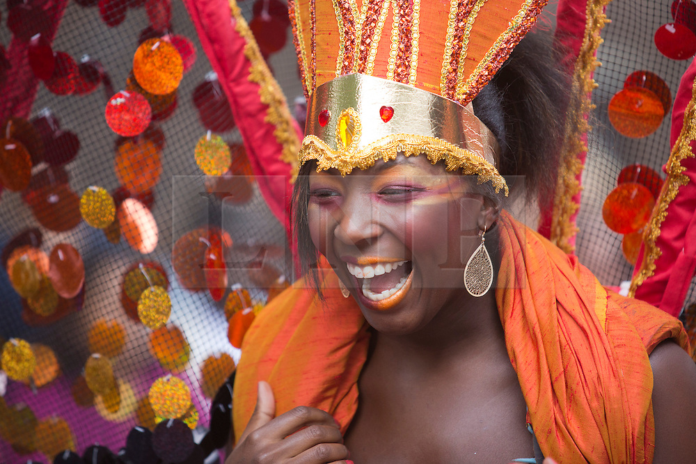 © Licensed to London News Pictures. 27/08/2012 London, England. Performers from Yaa Asantewaa. Notting Hill Carnival 2012, the largest street festival in Europe, gets its parade on Adults' Day under way. Photo credit: Bettina Strenske/LNP
