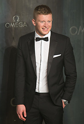 Tate Modern, London, April 26th 2017. Adam Peaty arrives at the Tate Modern in London for the 'Lost In Space' 60th anniversary event for the Omega Speedmaster watch.