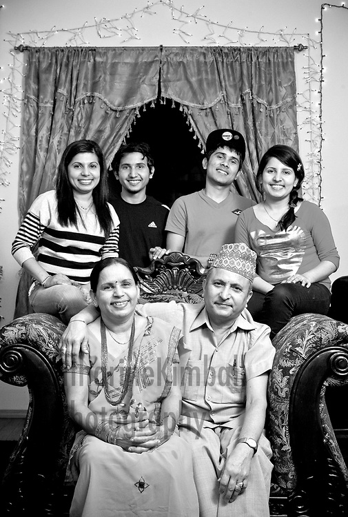 Nepalese American Family