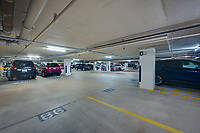 Interior image of Parking Garage at The Executive Plaza in Hunt Valley MD by Jeffrey Sauers of Commercial Photographics, Architectural Photo Artistry in Washington DC, Virginia to Florida and PA to New England