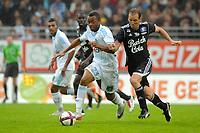 FOOTBALL - FRIENDLY GAMES 2011/2012 - VANNES OC v OLYMPIQUE MARSEILLE  - 8/07/2011 - PHOTO PASCAL ALLEE / DPPI - JORDAN AYEW (OM) / MATHIEU BERSON (VOC)