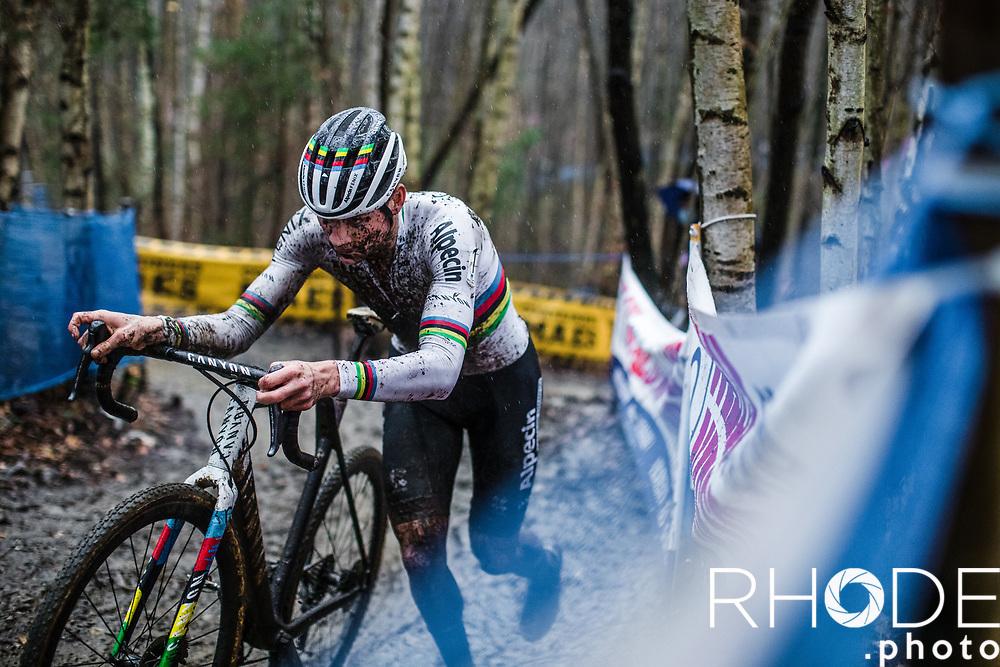 world champion Mathieu van der Poel (NED/Alpecin-Fenix) <br /> <br /> X2O Badkamertrofee Herentals 2020<br /> Men Elite Race<br /> <br /> ©RhodePhotoMedia