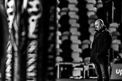Dragons' Head Coach Bernard Jackman during the pre match warm up<br /> <br /> Photographer Craig Thomas/Replay Images<br /> <br /> Guinness PRO14 Round 18 - Dragons v Cheetahs - Friday 23rd March 2018 - Rodney Parade - Newport<br /> <br /> World Copyright © Replay Images . All rights reserved. info@replayimages.co.uk - http://replayimages.co.uk