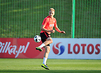 ARLAMOW, POLAND - MAY 30: Lukasz Teodorczyk during a training session of the Polish national team at Arlamow Hotel during the second phase of preparation for the 2018 FIFA World Cup Russia on May 30, 2018 in Arlamow, Poland. MB Media