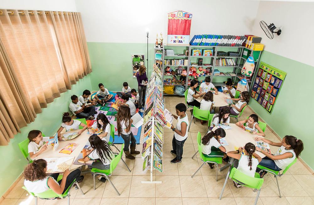 Itau de Minas_MG, Brasil.<br /> <br /> Na foto, alunos da Escola Municipal CARMELIA DRAMIS MALAGUTI, A escola foi a campea na prova do Ideb desse ano, no ensino fundamental, anos iniciais.<br /> <br /> In the photo, students of the Municipal School Carmelia DRAMIS MALAGUTI in Itau de Minas, Minas Gerais.<br /> <br /> Foto: LEO DRUMOND / NITRO