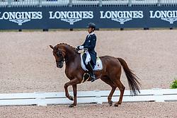 Sado Kazuki, JPN, Barolo<br /> World Equestrian Games - Tryon 2018<br /> © Hippo Foto - Dirk Caremans<br /> 12/09/18