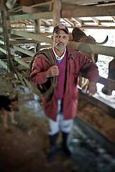 Manoel da Conceição Silveira, 65, um dos integrantes da associação de quilombolas de Morro Alto, no municipio de Maquiné, no interior do Rio Grande do Sul. FOTO: Jefferson Bernardes / Preview.com