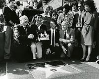 1986 George Takei's Walk of Fame ceremony