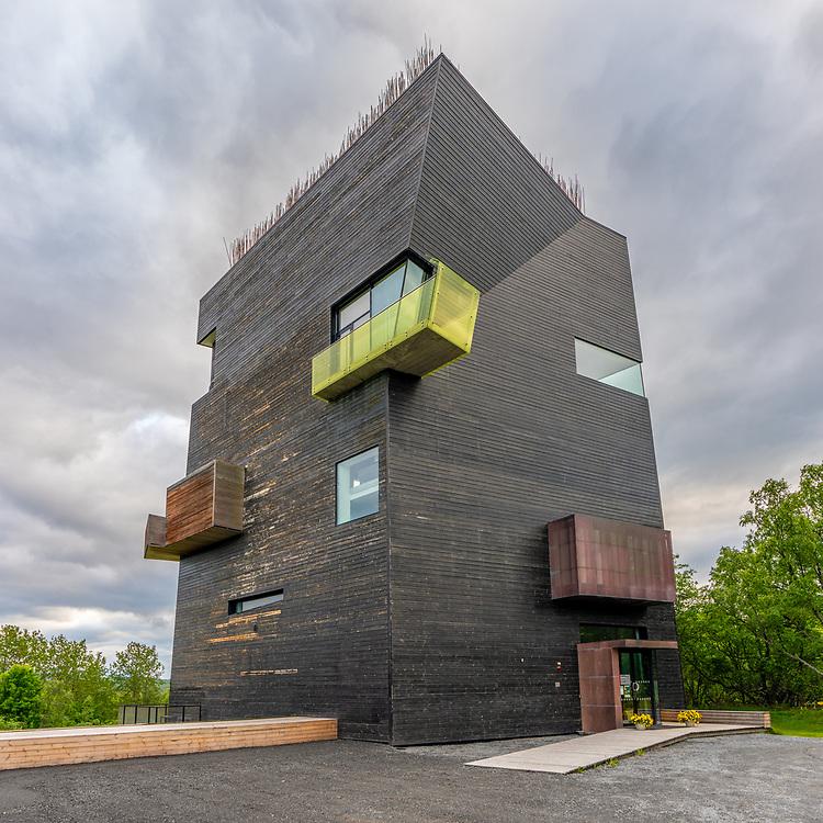 Hamsunsenteret er et nasjonalt senter og museum viet til forfatteren Knut Hamsun. Det ligger på Presteid i Hamarøy, og stod ferdig 4. august 2009. Hovedbygningen har form som et 26 meter høyt tårn og er tegnet av den amerikanske arkitekten Steven Holl.