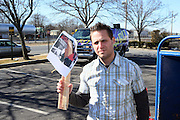 """Drew Applebaum at Shred Your Ex and Shred Chris Brown CDs and Posters for Pre-Valentines Day Bash held at WBLI Studios in West Babylon, Long Island on February 13, 2009..""""Shred Your Ex"""" party the day before Valentines Day. Radio Station WBLI has invited members of Rihanna's Fan Club and other fans across the nation to join the pop star's side along with .others who are """"unlucky in love.""""."""