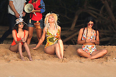 Katy Perry shooting her new music video in Hawaii - 3 July 2019