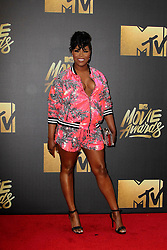 Ta'Rhonda Jones, at the 2016 MTV Movie Awards, Warner Bros. Studios, Burbank, CA 04-09-16. EXPA Pictures © 2016, PhotoCredit: EXPA/ Photoshot/ Martin Sloan<br /> <br /> *****ATTENTION - for AUT, SLO, CRO, SRB, BIH, MAZ, SUI only*****