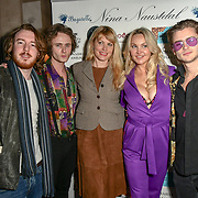 Guest,Ben Luke Jones, Meredith Ostrom, Heather Bird tchenguiz and Jack McEvoy Arrivers at Nina Naustdal catwalk show SS19/20 collection by The London School of Beauty & Make-up at Bagatelle on 26 Feb 2019, London, UK.