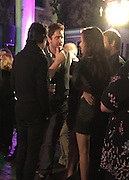 Exclusive<br /> Gerard Butler pictured at a wrap party for GEOSTORM at The Mansion at Mardi Gras World in New Orleans.<br /> Gerard was pictured with Madalina Ghenea, his girlfriend. Her and Gerard were there all night, with the director Dean Devlin and company. Gerard dated Madalina back in 2013 but she later dumped him after he was caught with a brunette in a nightclub. These images show there romance is back on after spending time at the party the pair headed outside to watch an amazing firework display on the Mississippi River, they were pictured holding hands as they left, Gerard was dating was dating Morgan Brown in December<br /> <br /> Photo shows: Gerard chats to Madalina Ghenea, who is now said to back dating after he cheated on her back in 2013<br /> ©Exclusivepix Media