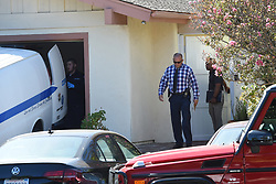 Detectives and coroner people are seen going in and out of rapper Mac Miller's home after an apparent overdose in Studio City. 07 Sep 2018 Pictured: Mac Miller. Photo credit: MEGA TheMegaAgency.com +1 888 505 6342