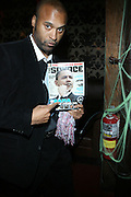 """Londell McMillan at The Russell Simmons and Spike Lee  co-hosted """"I AM C.H.A.N.G.E!"""" Get out the Vote Party presented by The Source Magazine and The HipHop Summit Action Network held at Home on October 30, 2008 in New York City"""