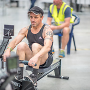Anton Richter-Visser MALE LIGHTWEIGHT Masters C 1K Race #9  11:15am<br /> <br /> <br /> www.rowingcelebration.com Competing on Concept 2 ergometers at the 2018 NZ Indoor Rowing Championships. Avanti Drome, Cambridge,  Saturday 24 November 2018 © Copyright photo Steve McArthur / @RowingCelebration