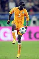 Fotball<br /> Tyskland v Elfenbenskysten<br /> Foto: Witters/Digitalsport<br /> NORWAY ONLY<br /> <br /> 18.11.2009<br /> <br /> Emmanuel Eboue<br /> Fussball Elfenbeinkueste