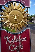 Kalaheo Cafe, Kauai, Hawaii