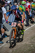 Lea Davidson (USA) during the Cross Country Olympics event at the 2018 UCI MTB World Championships - Lenzerheide, Switzerland