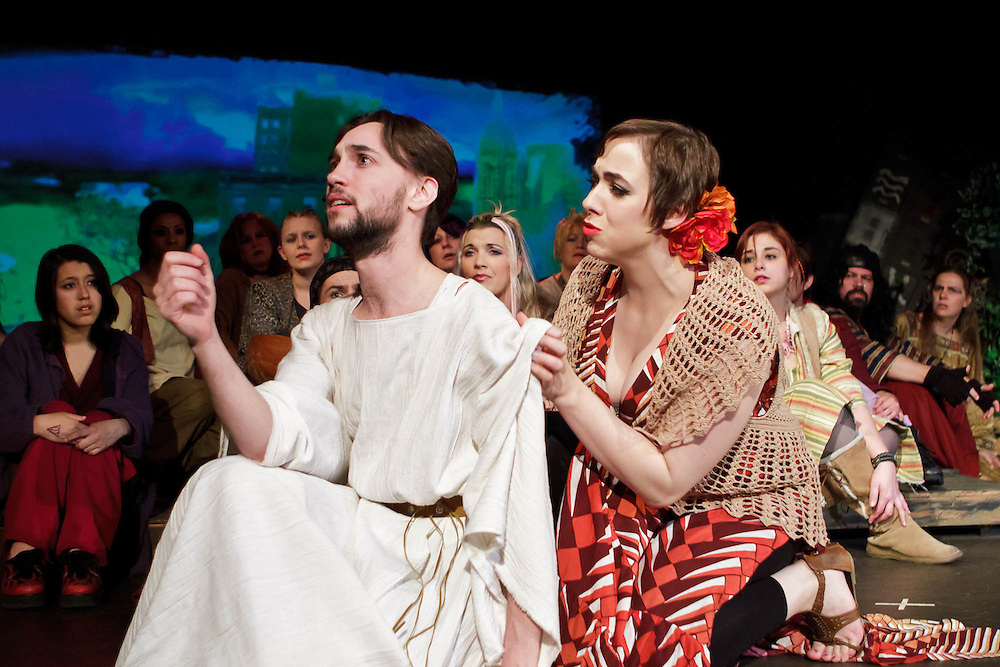 """Bay Area Stage presents """"Jesus Christ Superstar,"""" directed by Jeff Lowe. Photo © 2011 Mike Padua"""