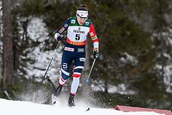 November 24, 2018 - Ruka, FINLAND - 181124 Heidi Weng of Norway competes in the women's sprint classic technique prologue during the FIS Cross-Country World Cup premiere on November 24, 2018 in Ruka  (Credit Image: © Carl Sandin/Bildbyran via ZUMA Press)