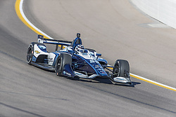 February 9, 2018 - Avondale, Arizona, United States of America - February 09, 2018 - Avondale, Arizona, USA: Max Chilton (59) takes his IndyCar Verizon car through the turns during the Prix View at ISM Raceway in Avondale, Arizona. (Credit Image: © Walter G Arce Sr Asp Inc/ASP via ZUMA Wire)