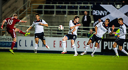 Aberdeen's Nicky Low shoots.<br /> Falkirk 0 v 5 Aberdeen, the third round of the Scottish League Cup.<br /> ©Michael Schofield.