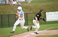 Laconia Muskrats versus Newport Gulls for playoff game 2 at Robbie Mills Sports Complex August 4, 2011.