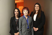 SHOT 12/4/19 11:09:23 AM - McGuane & Hogan, P.C., a Colorado family law firm located in Denver, Co. Includes attorneys Kathleen Ann Hogan, Halleh T. Omidi and Katie P. Ahles. (Photo by Marc Piscotty / © 2019)