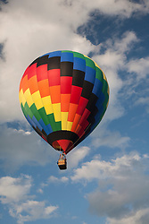 North America, United States, Vermont, Queechee, Queechee Hot Air Balloon festival, held in June
