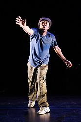 Lyrikal Fearta - Redux. Jonzi D at Lilian Baylis Studio, Sadler's Wells, London, Great Britain, October 17, 2012. Photo by Elliott Franks / i-Images.