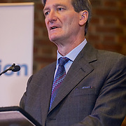 London, UK, 13th September 2017. Speaker Dominic Grieve MP, Mass lobby statements of support from a cross-party group of MPs , Hosts by British in Europe and the3million and partners talk about the campaign and the importance of guaranteeing citizens' rights. at Emmanuel Centre.