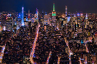 Midtown Manhattan Skyline @ Night