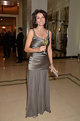 TRACEY CURTIS-TAYLOR at the Tusk Friends Dinner in aid of wildlife charity Tusk held at Claridge's, Brook Street, London on 11th March 2014.