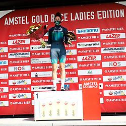 18-04-2021: Wielrennen: Amstel Gold Race women: Berg en Terblijt: Quinty Ton: strijdlust