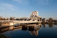 The 'new' Pegasus Bridge, on the Caen Canal, Normandy, France © Rudolf Abraham