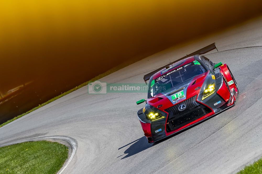 May 4, 2018 - Lexington, Ohio, United States of America - The 3GT Racing Lexus RCF GT3 races through the turns at the Acura Sports Car Challenge at Mid Ohio Sports Car Course in Lexington, Ohio. (Credit Image: © Walter G Arce Sr Asp Inc/ASP via ZUMA Wire)