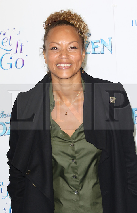 Angela Griffin, Frozen Sing-Along - VIP film screening, Royal Albert Hall, London UK, 17 November 2014, Photo by Richard Goldschmidt ©under licence to London News Pictures. +44 (0)208 408 0190