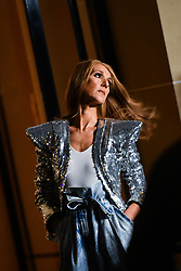 Céline Dion during the L'Oreal shooting at the Plaza Athénée on 30 January 2019 in Paris, France.