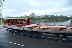 The Royal barge Gloriana