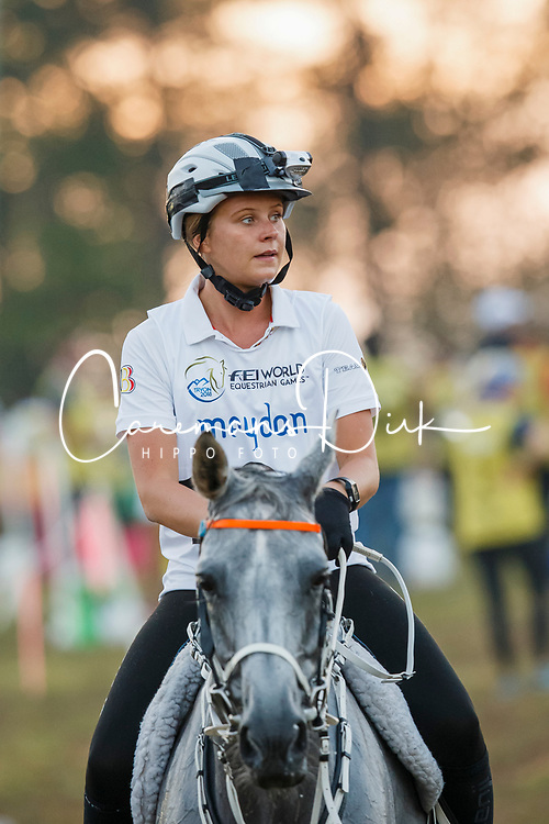 Schuiten Louna, BEL, Sabah Du Courtisot<br /> World Equestrian Games - Tryon 2018<br /> © Hippo Foto - Dirk Caremans