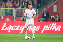 October 11, 2018 - Chorzow, Poland - Jan Bednarek (POL) during the UEFA Nations league match between Poland v Portugal at the Slaski Stadium on October 11, 2018 in Chorzow  (Credit Image: © Foto Olimpik/NurPhoto via ZUMA Press)